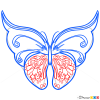 How to Draw Multicolor Butterfly, Butterflies