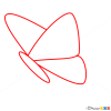 How to Draw Tender Butterfly, Butterflies