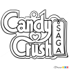 How to Draw Logo, Candy Crush