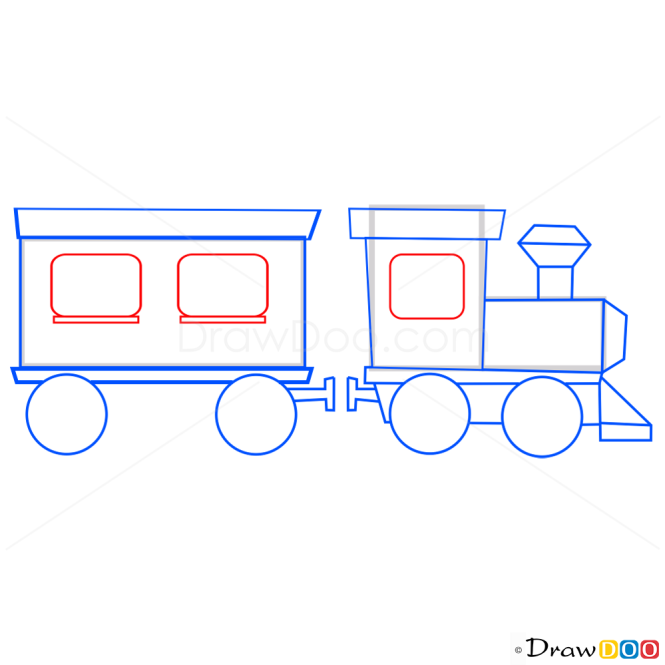 How to Draw Train, Candy Crush