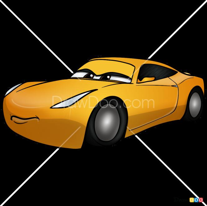 How to Draw Cruz Ramirez, Cars