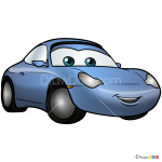How to Draw Sally, Cars