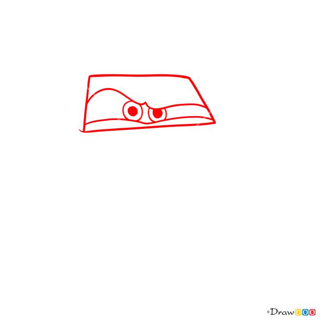 How to Draw Rod Runner, Cars
