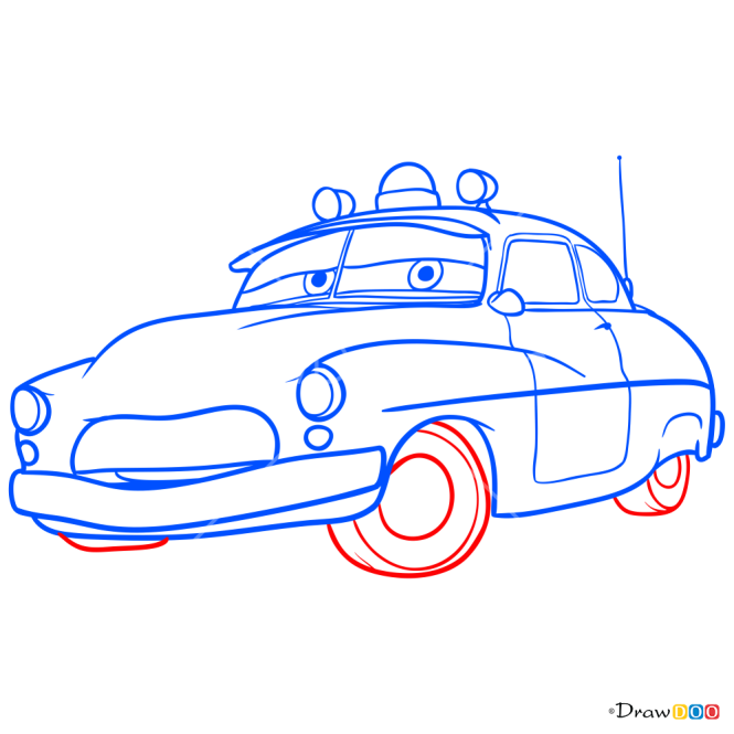 How to Draw Sheriff, Cars
