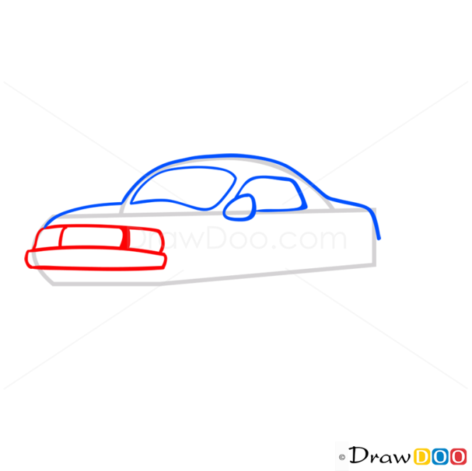 How to Draw Business Car, Cartoon Cars
