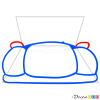 How to Draw Blue Car, Cartoon Cars