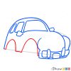 How to Draw Mustard Car, Cartoon Cars