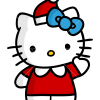 How to Draw Hello Kitty, Christmas Cartoons