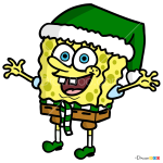How to Draw Spongebob, Christmas Cartoons