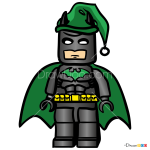 How to Draw Lego Batman, Christmas Cartoons