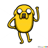 How to Draw Jake the Dog, Cartoon Characters