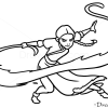 How to Draw Katara, Cartoon Characters