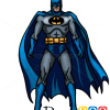 How to Draw Batman, Cartoon Characters