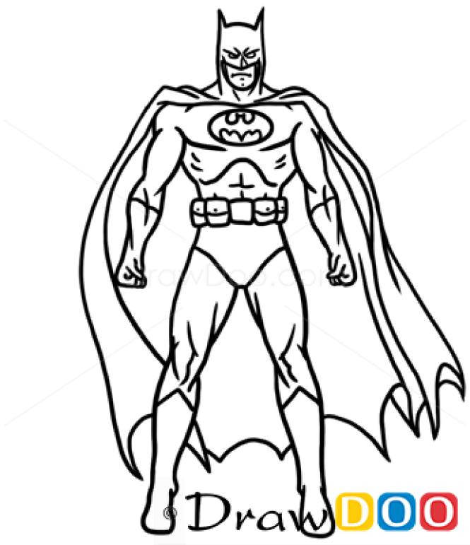 How To Draw Batman, Cartoon Characters