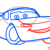 How to Draw Lighting McQueen, Cartoon Characters