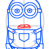 How to Draw Minion Dave, Cartoon Characters