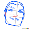 How to Draw General Ronin Face, Cartoon Characters