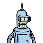 How to Draw Bender, Cartoon Characters