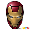 How to Draw Ironman, Cartoon Characters
