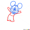 How to Draw Mickey Mouse, Cartoon Characters