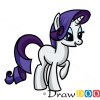 How to Draw Rarity, Cartoon Characters