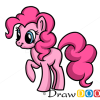 How to Draw Pinkie Pie, Cartoon Characters