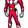 How to Draw Red Ranger, Cartoon Characters