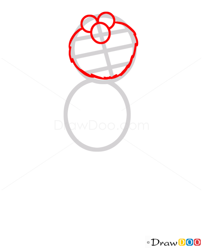How to Draw Elmo, Cartoon Characters