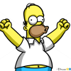 How to Draw Homer Simpson, Cartoon Characters