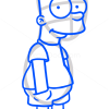 How to Draw Bart Simpson, Cartoon Characters