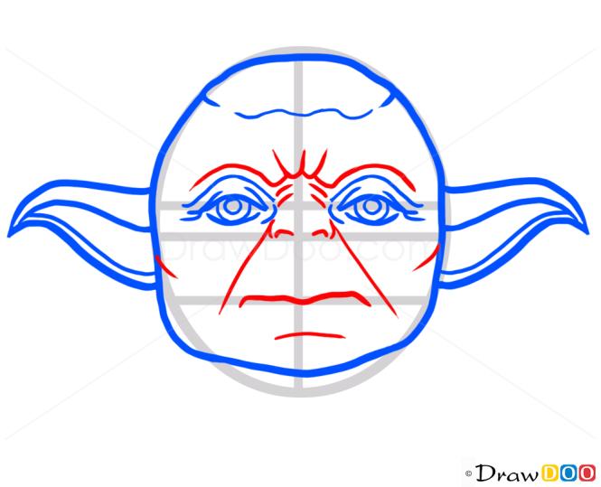 How to Draw Master Yoda, Cartoon Characters