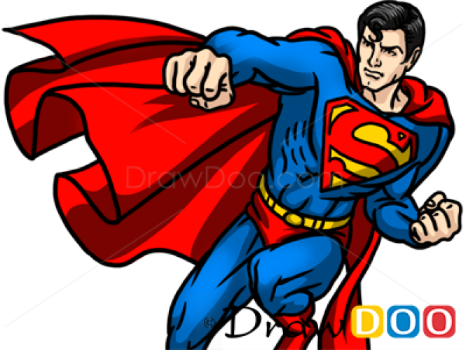 How to Draw Superman, Cartoon Characters