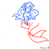 How to Draw Little Mermaid, Cartoon Characters