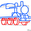 How to Draw Thomas, Cartoon Characters