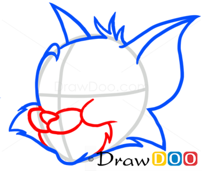 How to Draw Tom, Cartoon Characters