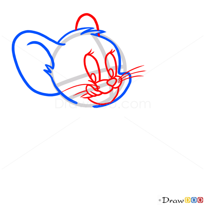How to Draw Jerry, Cartoon Characters