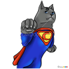 How to Draw Supercat, Cats Superheroes