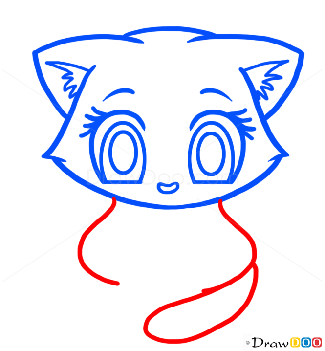 How to Draw Kitten for Kids, Cats and Kittens