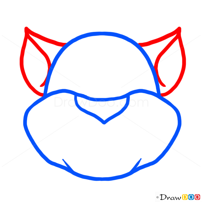 How to Draw Tom Cat, Cats and Kittens