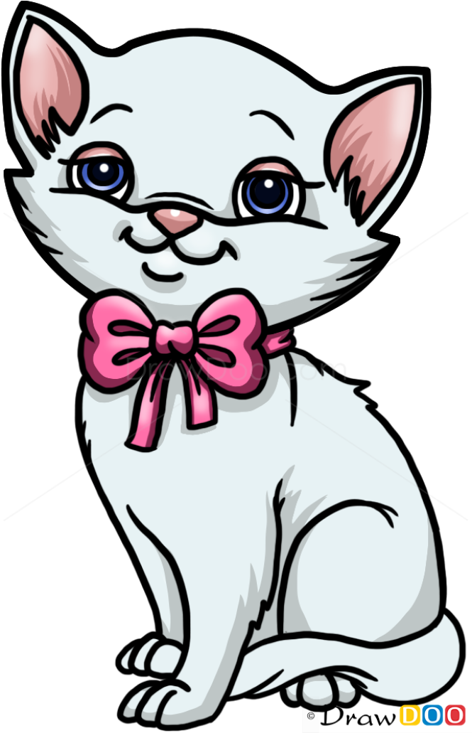 How to Draw Cute Kitten, Cats and Kittens