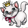 How to Draw Kitten Princess, Cats and Kittens
