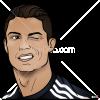 How to Draw Cristiano Portrait, Celebrities Cristiano Ronaldo