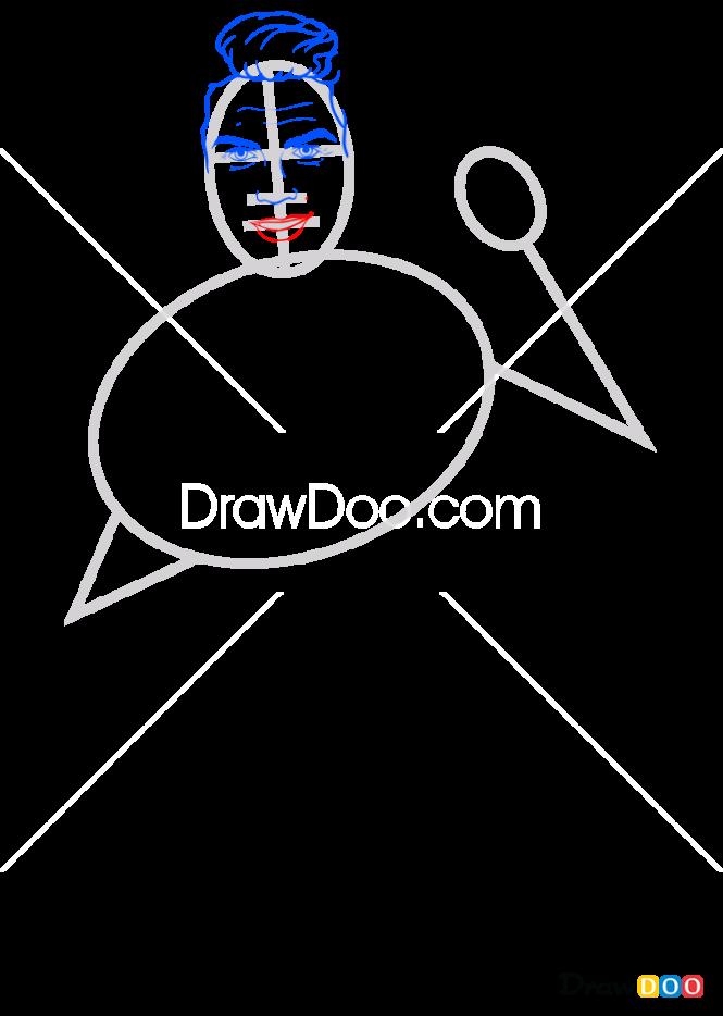 How to Draw Cristiano, Celebrities Cristiano Ronaldo