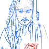 How to Draw Johnny Depp, Celebrities