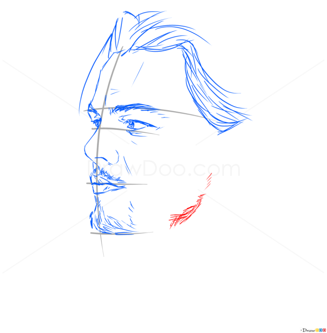 How to Draw Leonardo DiCaprio, Celebrities