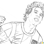 How to Draw Lionel Messi, Celebrities