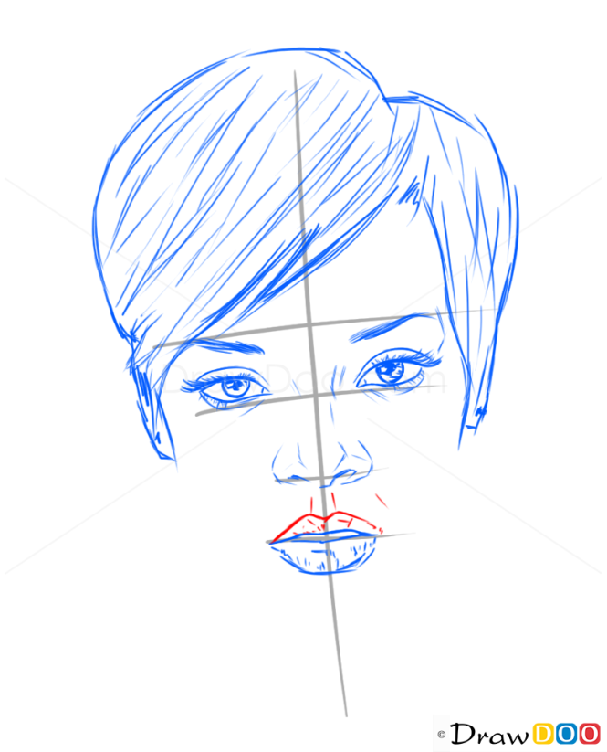 How to Draw Rihanna, Celebrities