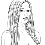 How to Draw Avril Lavigne, Celebrities
