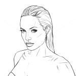 How to Draw Angelina Jolie, Celebrities