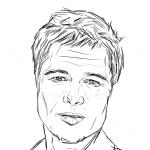 How to Draw Brad Pitt, Celebrities